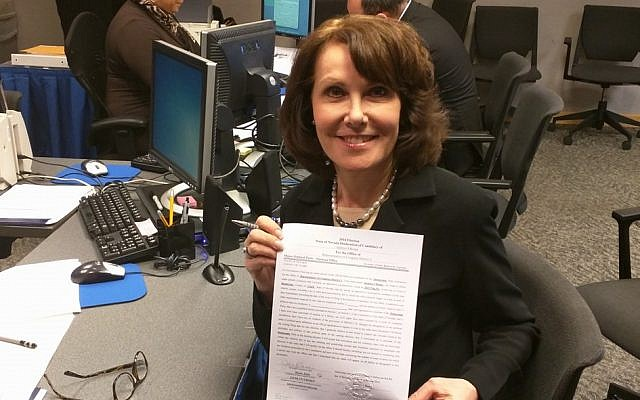 Jacky Rosen is backed by Sen. Reid in her bid for Nevada's 3rd Congressional District (Facebook)