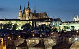 Illustrative: Night view of the Castle and Charles Bridge, Prague, Czech Republic (CC BY-SA 3.0 Jorge Royan/Wikipedia)