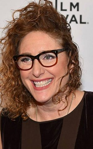 Comedian Judy Gold at the Tribeca Film Festival opening of 'The Last Laugh' on April 18 (Facebook)
