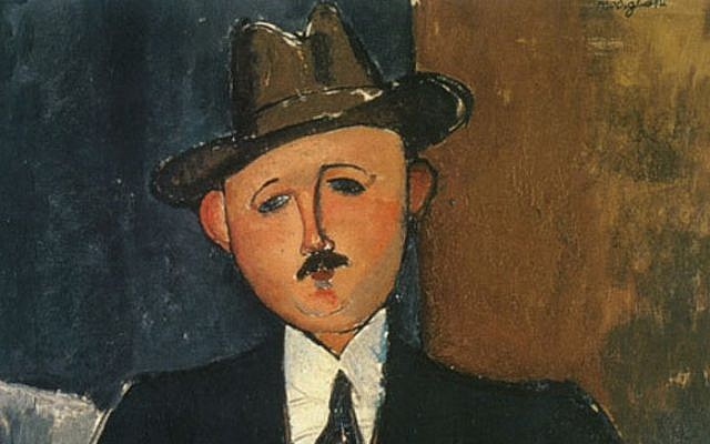 Amedeo Modigliani's 'Seated Man with a Cane,' 1918