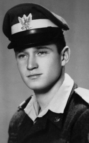 Lt. Yakir Naveh, whose airplane crashed in the Sea of Galilee in May 1962. (Israeli Air Force)