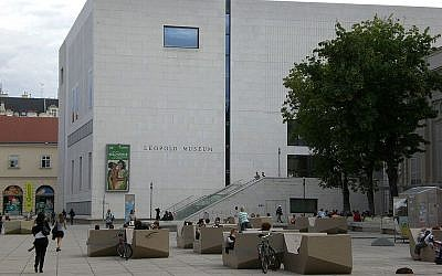 The Leopold Museum in Vienna (CC BY-SA 3.0/Manfreeed)