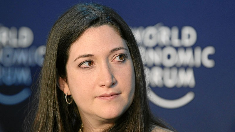 Randi Zuckerberg at the World Economic Forum in Davos Switzerland
