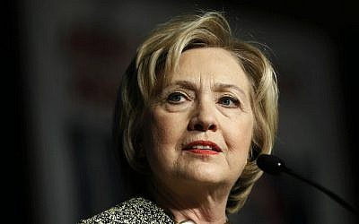 In this April 6, 2016, photo, Democratic presidential candidate Hillary Clinton speaks at the Pennsylvania AFL-CIO Convention in Philadelphia. (AP Photo/Matt Rourke)