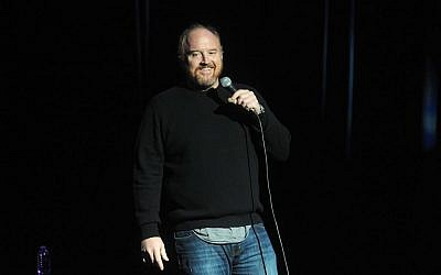 Louis C.K. performs at the 8th Annual Stand Up For Heroes at the Theater at Madison Square Garden on Wednesday, November 5, 2014, in New York (Brad Barket/Invision/AP)