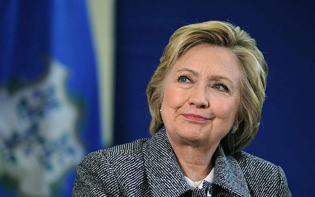Democratic presidential candidate Hillary Clinton listens during a campaign event in Hartford, Connecticut, April 21, 2016. (AP Photo/Jessica Hill)