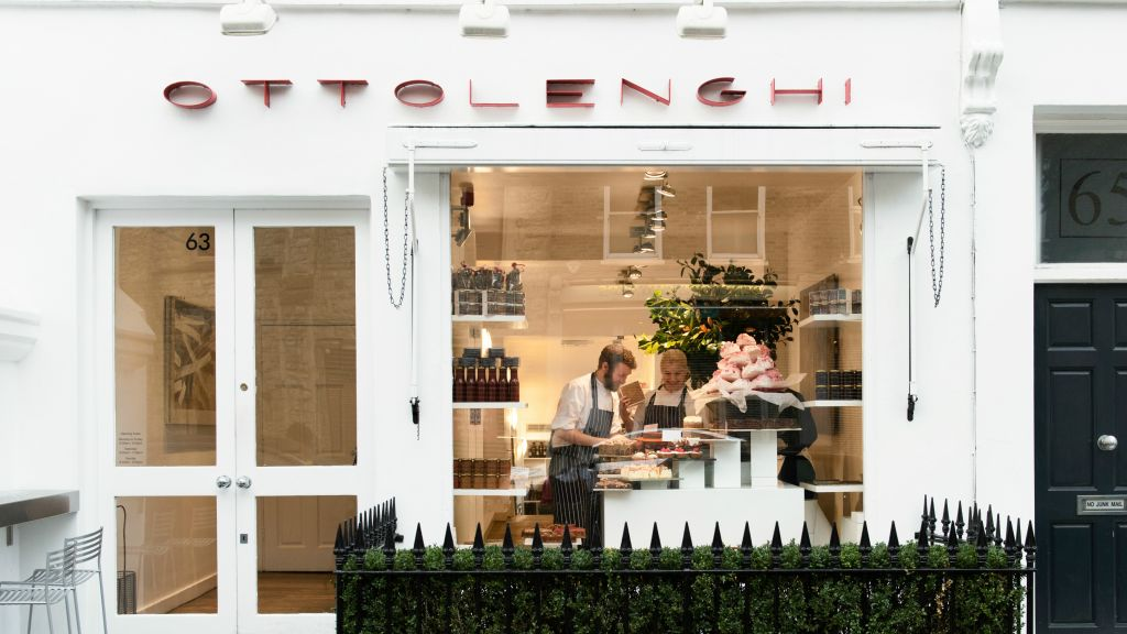 Ottolenghi, one of five London restaurants spearheaded by Chef Yotam Ottolenghi (Courtesy)