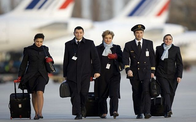 Air France cabin crew (Courtesy)