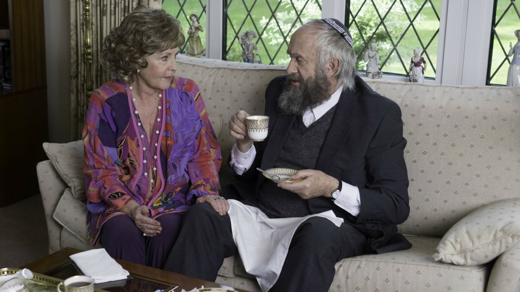 Pauline Collins and Jonathan Pryce in 'Dough.' (Menemsha Films)