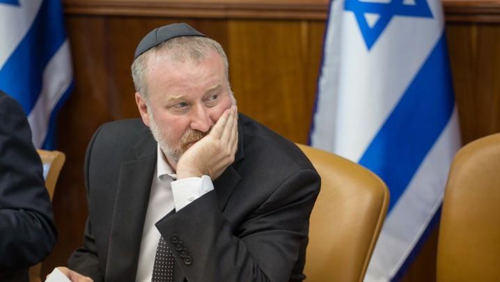 Attorney General Avichai Mandelblit in Jerusalem on July 5, 2015. (Emil Salman/POOL)