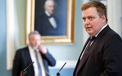 Iceland's Prime Minister Sigmundur David Gunnlaugsson (AP Photo/Brynjar Gunnarsson, File).