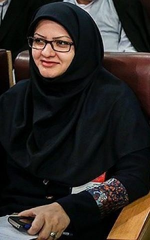 Iranian MP Minoo Khaleghi (Wikimedia Commons, Hamed Malekpour, CC BY 4.0)