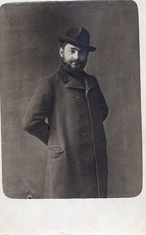 Ben Zion Black, circa 1910 (courtesy)