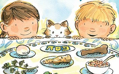 Detail from 'More Than Enough: A Passover Story' (Penguin Random House/via JTA)