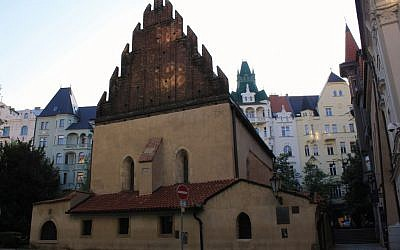 The Old New synagogue in Prague, Czech Republic (CC-BY-SA 3.0 Wikimedia/Øyvind Holmstad)