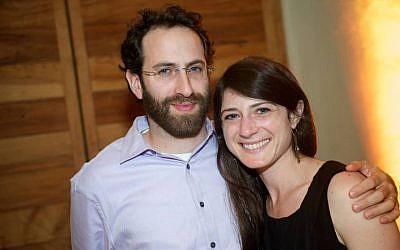 Rabbi Gabriel Greenberg and his wife, Abby Greenberg (Facebook)
