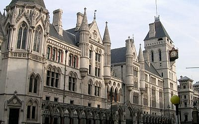 Royal Courts of Justice, London (sjiong -flickr.com/photos/sjiong/109817932/ Wikipedia)
