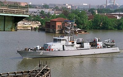 The USS Sirocco patrol ship. (Wikimedia/US Department of Defense)