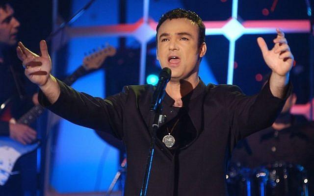 Israeli singer David D'Or. (Flash 90)
