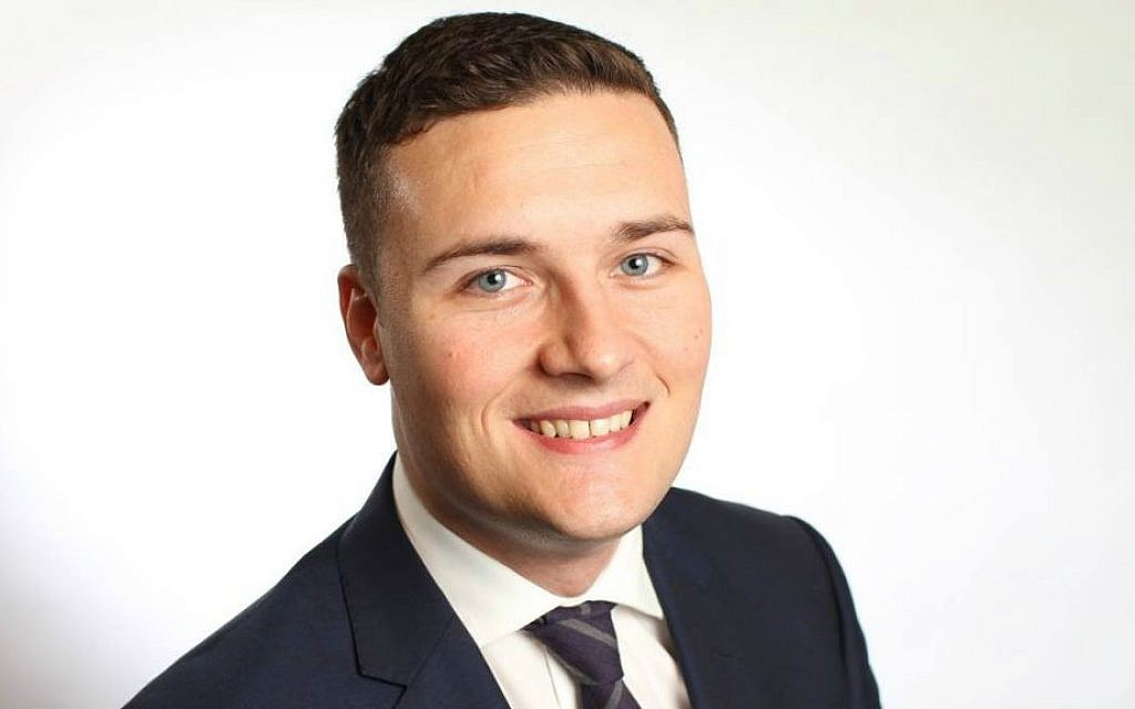UK Labour MP Wes Streeting, 33, was elected in 2015 to represent the Ilford North district (courtesy)