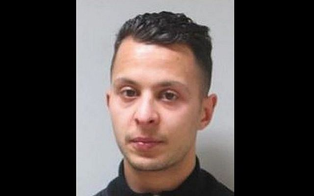 Salah Abdeslam, the last living suspected gunman in the Paris terror rampage of November 13, 2015. (Federal Police of Belgium/AFP)