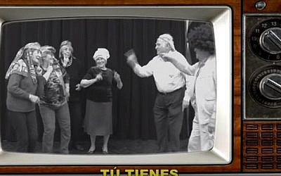 'The Passover Palito,' a clip by a group of Argentine seniors (YouTube screenshot)