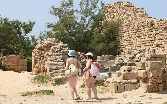 The Metzuda, an ancient citadel outside Ashdod (Shmuel Bar-Am)