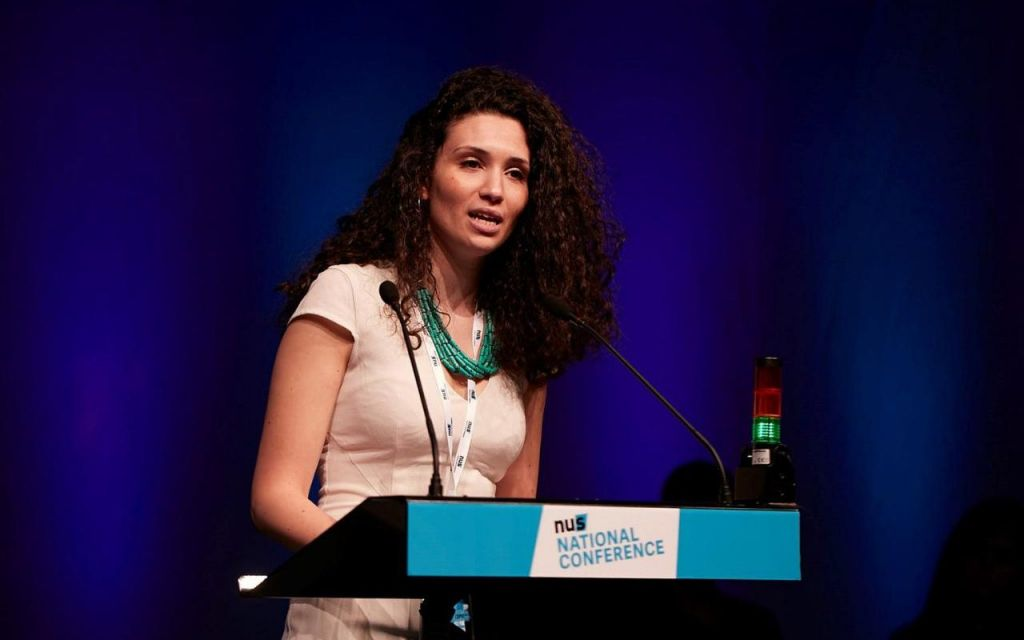 Former NUS President Malia Bouattia (National Union of Students)