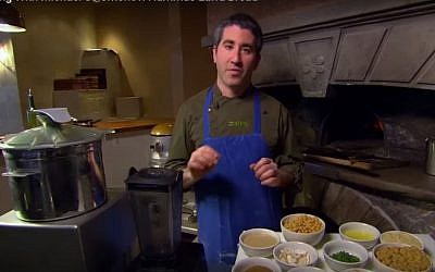Israeli-American cook Michael Solomonov. (YouTube/The Daily)