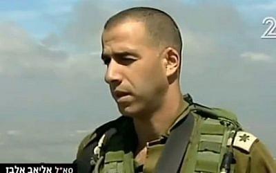 Eliav Elbaz (Channel 2)
