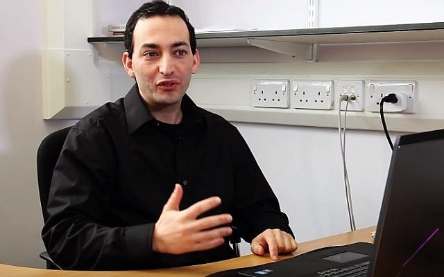The University of Sheffield's Dr. Eran Elhaik (YouTube screenshot)