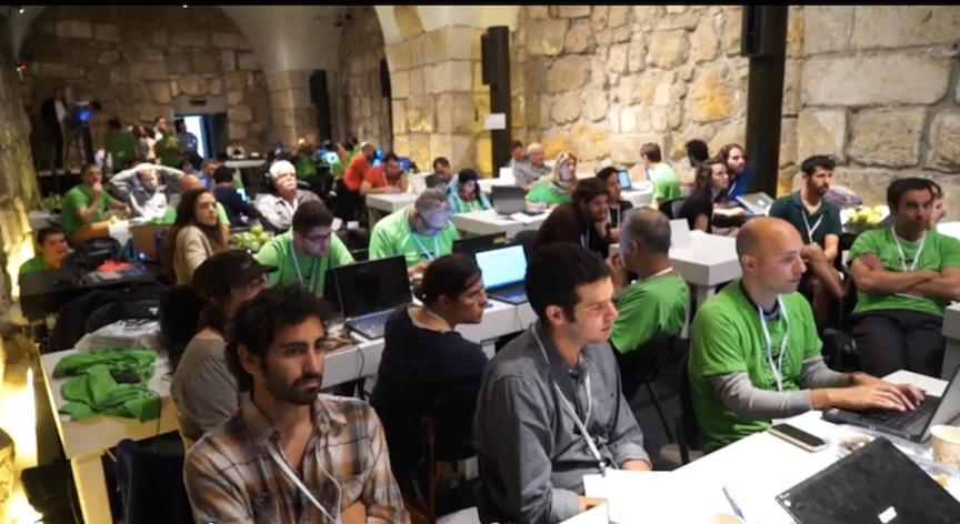Hacking the Walls hackathon participants (Courtesy)
