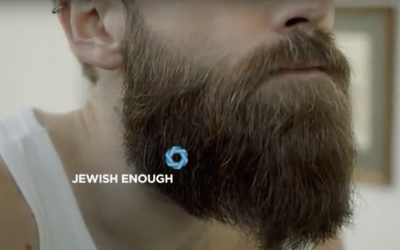 An ad campaign for the Toronto Jewish Film Festival thinks just about anyone is Jewish enough to enjoy Jewish movies. (Screenshot/ YouTube)