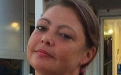 An undated photo of Julie Pearson, 38, who died hours after an alleged beating by her boyfriend Amjab Hatib in Eilat on November 27, 2015. (Courtesy Pearson family)