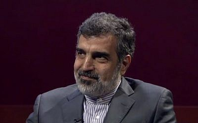 Spokesman of the Atomic Energy Organization of Iran (AEOI) Behrouz Kamalvandi (PressTV News Videos)
