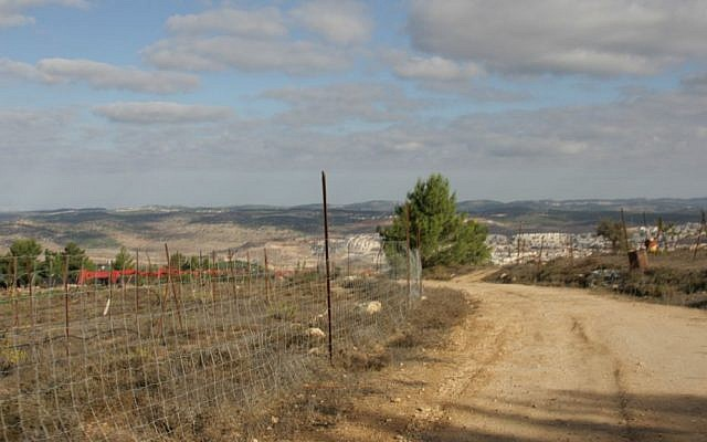 A view towards the coast from Kibbutz Kfar Etzion (Shmuel Bar-Am)