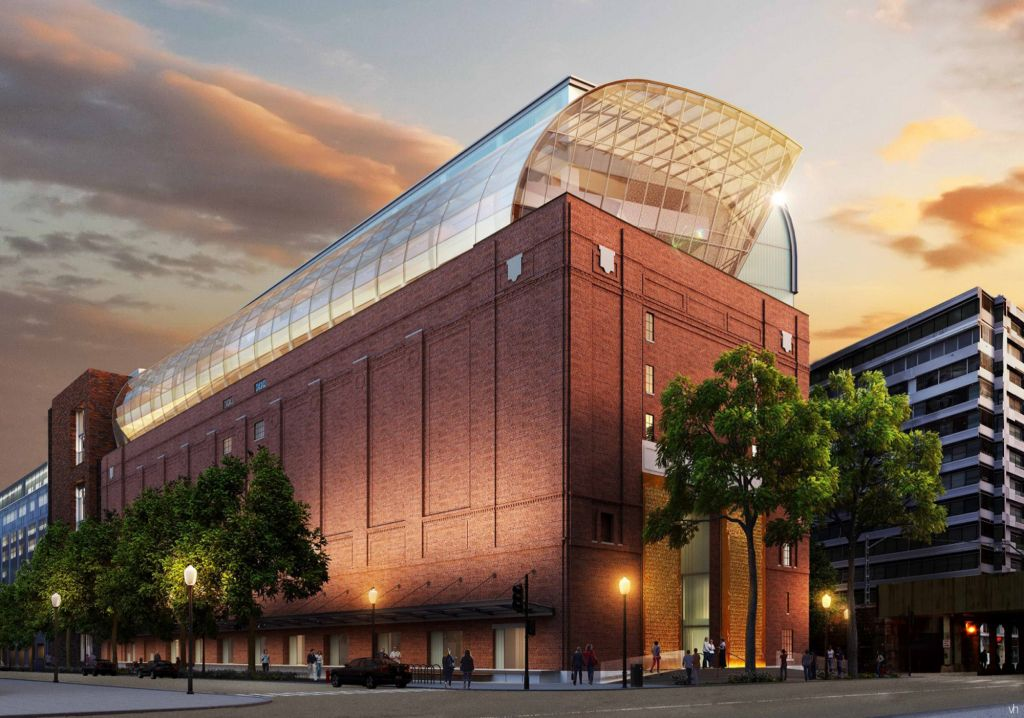 The Museum of The Bible, set to open in Washington, DC, in fall 2017 (Courtesy)
