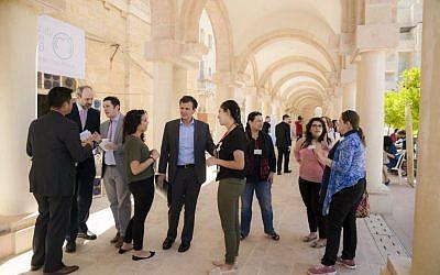 ALLMEP Community Graduate Fair 2016 - Jerusalem April 7 2016 [Photography by Nabil Darwish for ALLMEP, Copyright 2016 All rights reserved. Jerusalem International YMCA]
