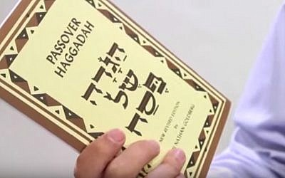Passover Haggadah (Screenshot/via JTA)