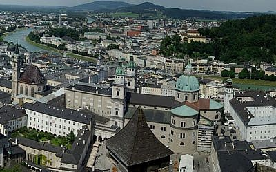 A view of the city of Salzburg (Wikimedia Commons, Marc Daigneault, CC BY 3.0)