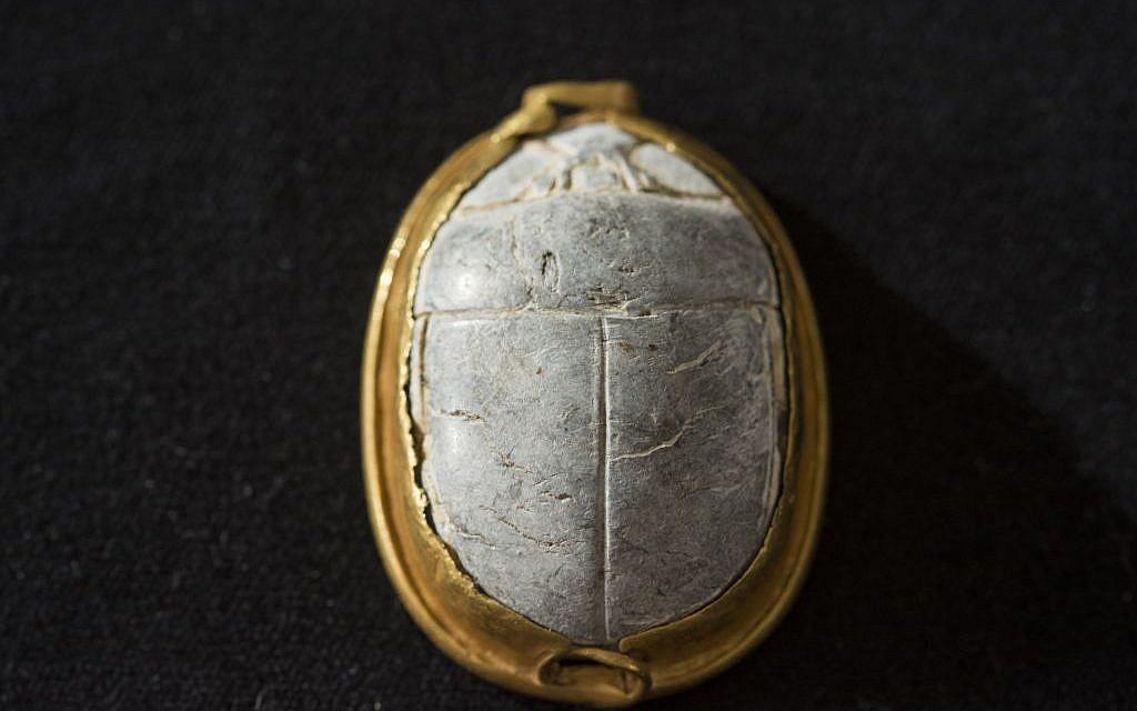 3,700-year-old scarab seal found by birdwatcher near Haifa