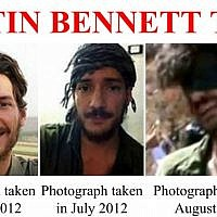 Screen shot of an FBI poster about Austin Bennett Tice, a photojournalist from Texas who disappeared in Syria in August 2012. (FBI)