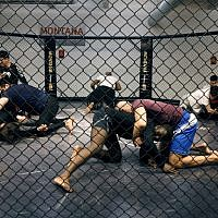 Illustrative: People take part in a MMA (Mixed Martials Arts) training session, on May 2, 2016 in Paris. (Francois Guillot/AFP)