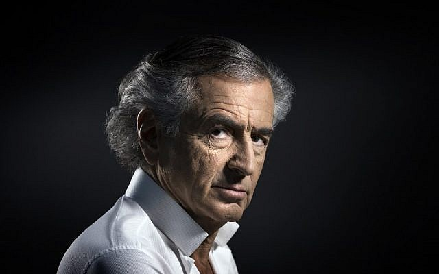 French philosopher and writer Bernard-Henri Levy in Paris, January 14, 2016. (AFP Photo/Joel Saget)