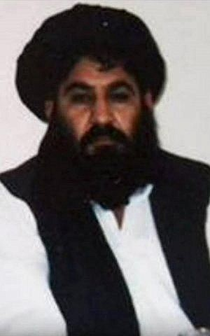 A photo released by the Afghan Taliban on December 3, 2015, taken on a mobile phone in mid-2014, said to show Afghan Taliban leader Mullah Akhtar Mansour. (AFP/Afghan Taliban)