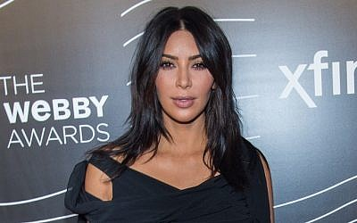 TV Personality Kim Kardashian West attends the 20th Annual Webby Awards at Cipriani Wall Street, New York City, May 16, 2016. (Mark Sagliocco/Getty Images/AFP)