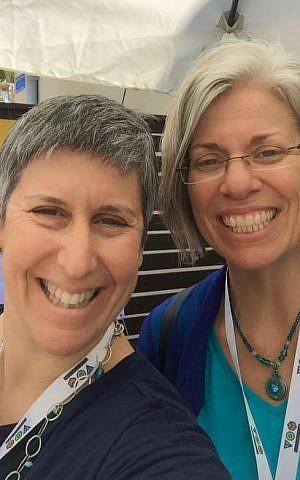 Shutaf co-founders Beth Steinberg (left) and Miriam Avraham (Courtesy)