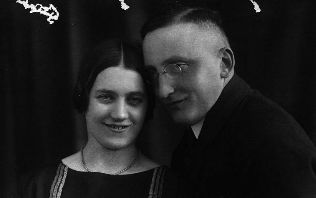 Jonathan Wittenberg's great-aunt Trudy and her husband Alex. Correspondence from the family was recently found in a deceased aunt's apartment, revealing what life was like in the days before Trudy and Alex were murdered by Nazis (courtesy)