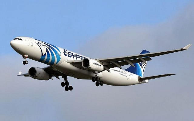 Illustrative image of an Egyptair A330-343X in 2014. (CC BY-SA Eric Salard, Flickr)