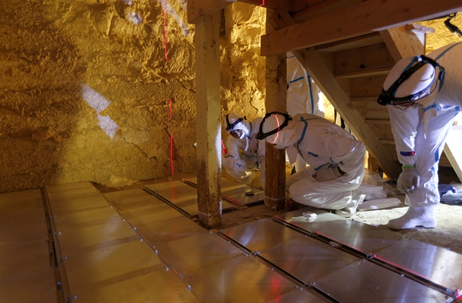 Scientists Use Cosmic Rays To Peek Inside Egypt S Pyramids The Times Of Israel